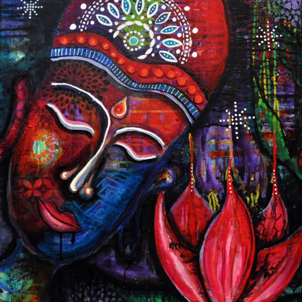 Festival Reverie Painting