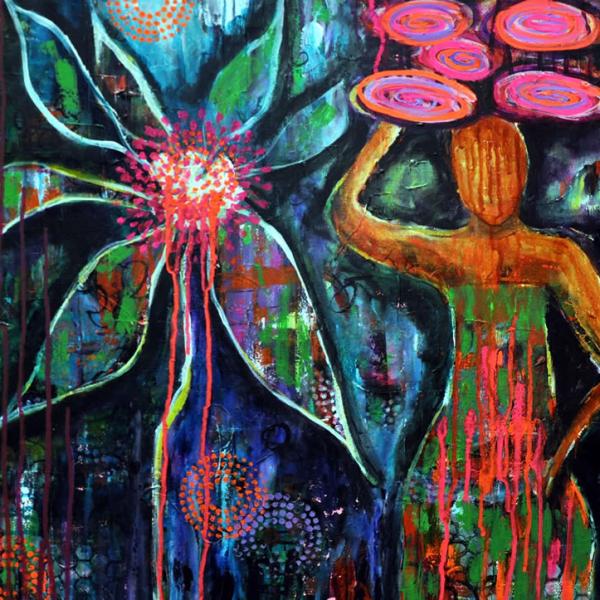 Path to Ubud Painting